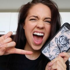 Claudia with her Wildflower case