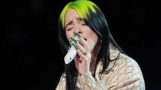 Billie Eilish - when the party's over (Live From The Grammys 2020