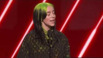 Billie Eilish Wins Best New Artist 2020 GRAMMYs Acceptance Speech