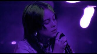 Billie Eilish - come out and play (LIVE FROM THE STEVE JOBS THEATER)
