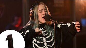 Billie Eilish - You Don't Get Me High Anymore (Phantogram cover) on Radio 1