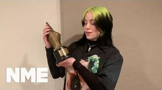 Billie Eilish wins Best Song In The World at NME Awards 2020
