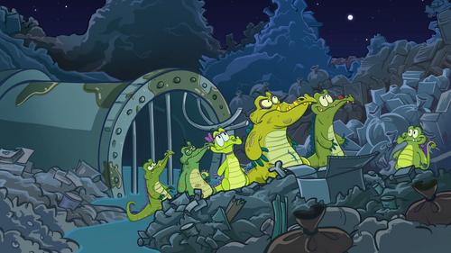 Аллигаторы (Скриншот)