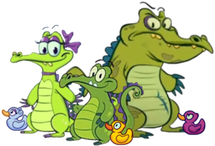 Swampy Allie & Cranky and their Ducks