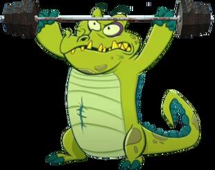 DEDSEC17 Cranky weight lifting