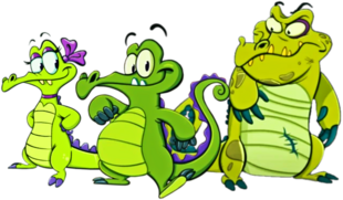 DEDSEC17 Swampy Allie & Cranky (2)