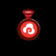 Маленький шар с паром