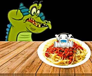 Theres a yeti in my spaghetti!