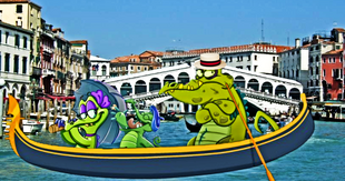 DEDSEC17 Swampy Allie and Cranky in Venice 2