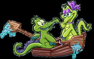 Swampy&Allie (No Water)