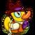 Duckie Dapper Duck
