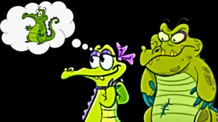 DEDSEC17 Allie thinks of Swampy!!!