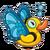 Duckie Butterfly Duck