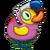 Duckie Flamingo Duck
