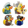 Duckies Header without Frame