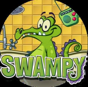 DEDSEC17 Swampy and Logo Circle