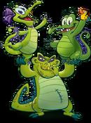WMW2 Alligators Portrait