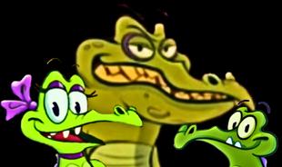 Allie Cranky and Swampy selfie