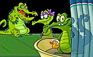 Swampy Allie Cranky Tub