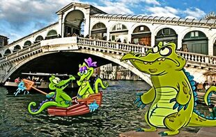 DEDSEC17 Swampy Allie and Cranky in Venice