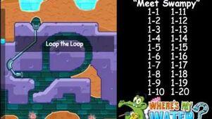 Wheres My Water - Level 1 - Meet Swampy Tri-Duck