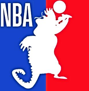 DEDSEC17 Cranky the NBA gator!!!