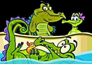 Cranky Allie and Swimming Swampy