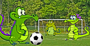 DEDSEC17 Swampy, Allie and Cranky Playing Soccer Football