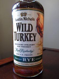 Wild Turkey Rye 2