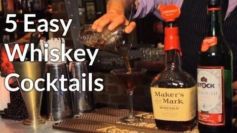5 Easy Whiskey Cocktails