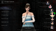 Han So-young Snow Queen Costume (Mobile)