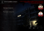 Downloadable Content Menu (English)