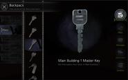 Main Building 1 Master Key