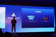 About VR game developer in Korea on PS VR Asia Conference