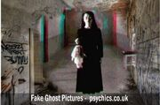 Woman in the closet - source fake ghost photo