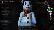 Lee Bong-gu Snowman Costume (Mobile)