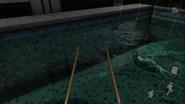 Mermaid in pool