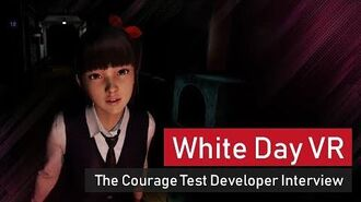White Day VR - The Courage Test Developer Interview (japanese)