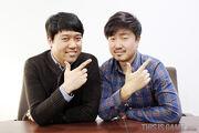 GachyonSoft Representive and Lee Won Sool-2015