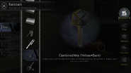 Combined Key (Yelllow+Dark)
