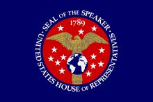 Speaker of the House of Representatives flag