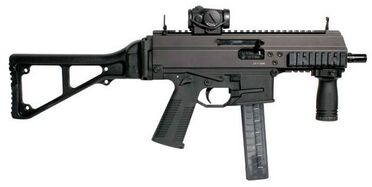 Police Carbine APC Parabellum 9x19 calibre Switzerland Swiss defence industrry military technology 001