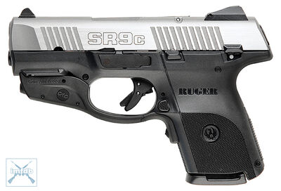 Rugersr9c laserguard stainless
