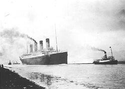 Rms titanic sea trials april 2 1912