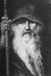 Georg von Rosen - Oden som vandringsman, 1886 (Odin, the Wanderer)