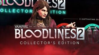 VTM Bloodlines 2 - Collectors Edition Contents