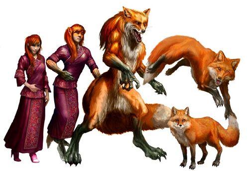 Kitsune forms