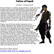 Fatima WWpage