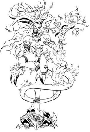 Akuma (Kindred of the East Companion)