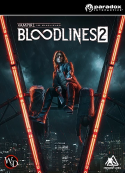 Vampire The Masquerade Bloodlines 2 Cover Art